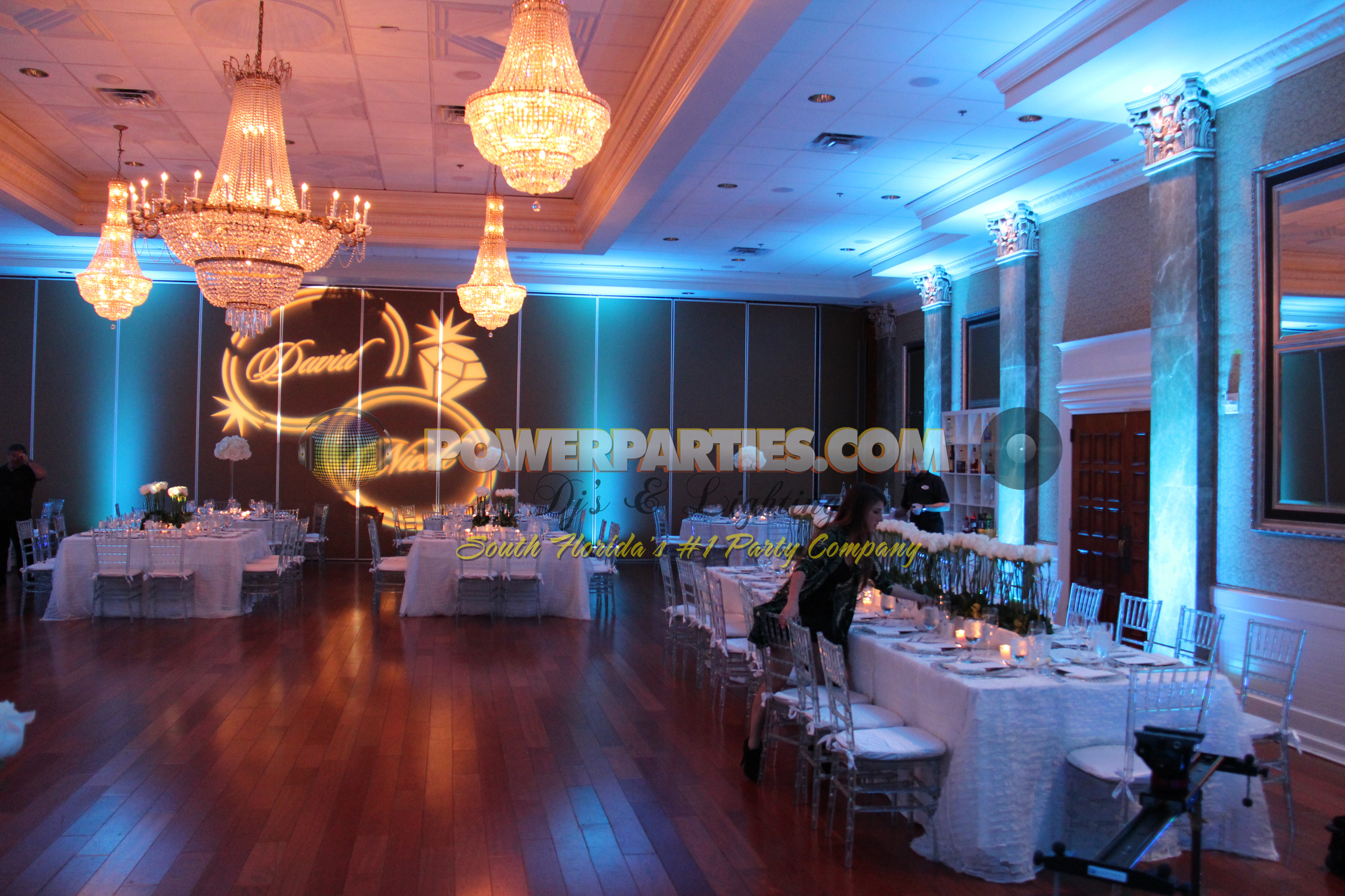 What Is Uplighting For A Wedding Or Quince Power