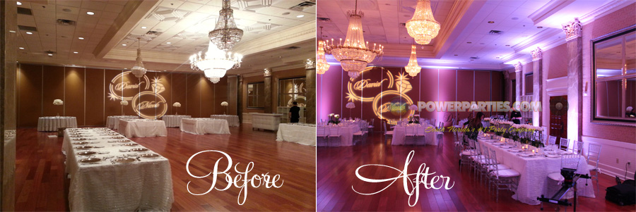 What Is Uplighting For A Wedding Or Quince Parties